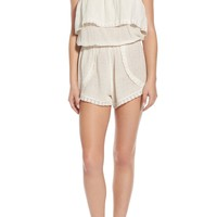 Billabong 'Behind the Sun' Strapless Romper | Nordstrom