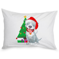 Happy Holidays Pillow Case
