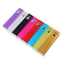 Portable Power Bank 2600mAh USB Output Battery Charger for iPhone 4S/5/5S MP3 OF