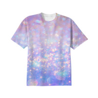 Leave a Little Sparkle (Dream Dust) Unisex T-Shirt created by soaringanchordesigns   Print All Over Me