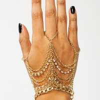 Off-The-Chain-Hand-Bracelet GOLD - GoJane.com
