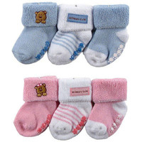 3 Piece Set Baby Socks for Boys or Girls 0-18m ::: Free Shipping!
