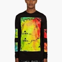 Hood by Air Men's Rainbow Weather Long-Sleeved T-Shirt