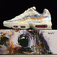 Dave White x size? x Nike Air Max 95 Stone / Thunder Sport Running Shoes 872640-200-1