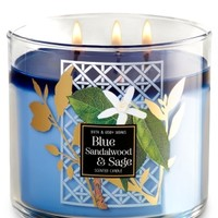 3-Wick Candle Blue Sandalwood & Sage