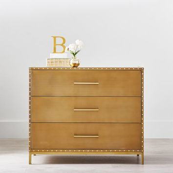 The Emily & Meritt Studded Gold Dresser