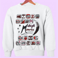 One Direction Midnight Memories Songs Crewneck