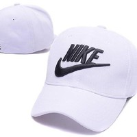 Ready Stock Nike Letter White Hat For Sale