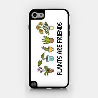 for iPod Touch Gen 5 - Plants Are Friends - Vegetarian - Tree - Cactus - Nature - Environment