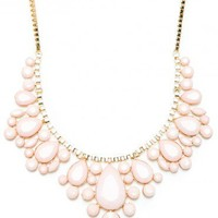 Georgina Necklace in Pink - ShopSosie.com