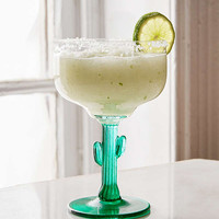Cactus Margarita Glass | Urban Outfitters