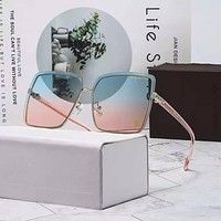 Perfect Louis Vuitton Women Fashion Summer Sun Shades Eyeglasses Glasses Sunglasses