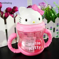 New Hello Kitty  Bottle Cup Juice Holder (300ml) yey-3071