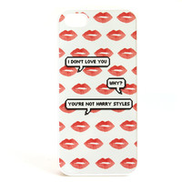 You're Not Harry Styles Lips Phone Case