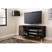 Renta TV Stand in Chocolate - Home - Furniture - Game Room & Media Furniture - Entertainment Centers