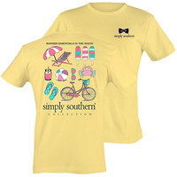Simply Southern Summer Essentials of the South Bright T-Shirt