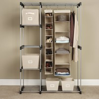 Whitmor  6779-3044  Double Rod Closet, Silver