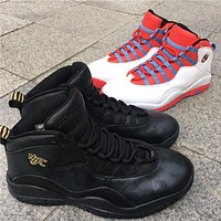 Air Jordan 10 Nyc Basketball Shoes