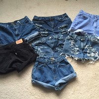 CUSTOMIZABLE PREORDER (read description) High waisted shorts (sizes 2-16) by Fashion Marauders