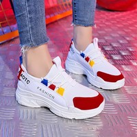 Tenis Feminino 2018 Hot Sale Professional Tennis Shoes for Women Breathable Air Mesh Height Increasing Outdoor Sneakers Footwear
