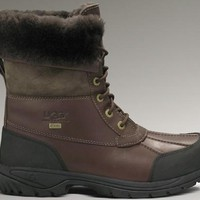 LFMON UGG 5521 Tall Men Fashion Casual Wool Winter Snow Boots Chocolate