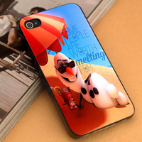 Disney Frozen Olaf Quote - iPhone 4/4s,5,5s,5c and Samsung S2,S3,S4 - Plastic Rubber