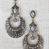 Round Bohemian Dangle Earrings