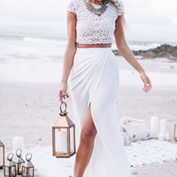 Amelle Set - Ivory | SABO SKIRT
