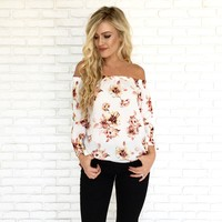 Better Together Floral Blouse
