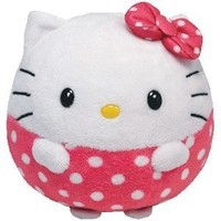 Ty Beanie Ballz Hello Kitty Plush - Large