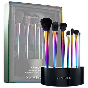 SEPHORA COLLECTION Holiday Light Show Brush Set
