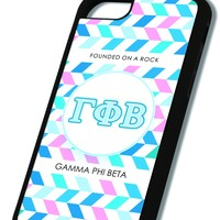 Gamma Phi Beta iPhone Case Black