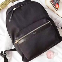 YSL hot seller of fashionable casual men's and women's solid-color backpacks