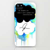 The Fault in Our Stars iPhone & iPod Case by Awful Artist