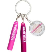 H&M - Eye Makeup Keyring - Pink - Ladies