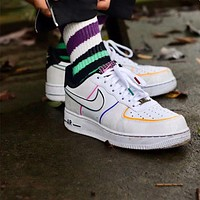 Nike Air Force 1 Low Flat Sneakers Shoes
