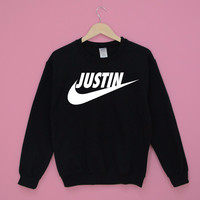 Justin Black Sweatshirt