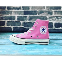 """""""Converse"""" Fashion Canvas Flats Sneakers Sport Shoes Pink"""