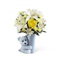 Baby Boy Big Hug Bouquet - New Baby Flowers - Occasion