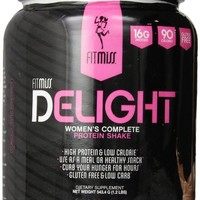 Fitmiss Delight Healthy Nutrition Shake for Women, Chocolate, 1.2 lbs.