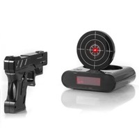 Stoga Creative Clock /Lock N' Load Gun Alarm Clock/Target Alarm Clock - Black