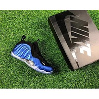 Air Foamposite One Black/blue Sneaker Shoe 40 47