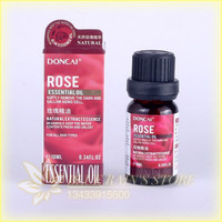 Rose essential oil, 10 ml hydrating essence carry bright color of skin moisturizing contractive pore essential oil S243A