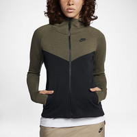 The Nike Sportswear Tech Fleece Windrunner Women's Hoodie.