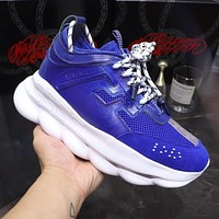 Versace Chain Reaction Sneakers #dsr109