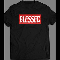 BLESSED CHRISTIAN FAITH DESIGNER SHIRT