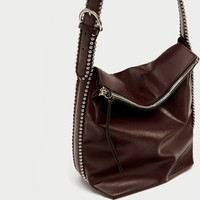 STUDDED BUCKET BAG - View all-BAGS-WOMAN-SALE | ZARA United States