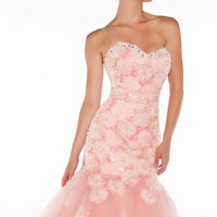 Strapless Sweetheart by Mac Duggal Ballgowns