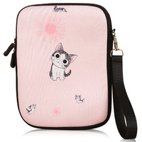 Lovable Kitten Print Water-Proof Cover for Apple Ipad Mini 1 2 3 Case