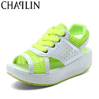Dropship Fashion Loss Weight Women Flats Shoes Summer Slimming Healthy and fit Swing Female Leather Casual Shoes 2719